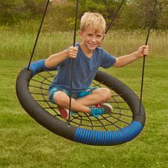 Swing-N-Slide Monster Web Swing | Overstock.com Shopping - Big Discounts on Swing-N-Slide Swing Sets