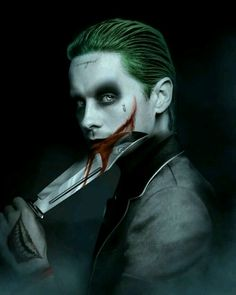 "~ † Jared Leto As The Joker In This Summer""s 2016"" s Suicide Squad † Movie ~"