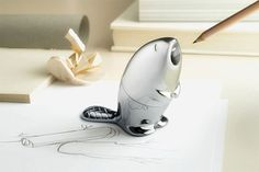 Beaver pencil sharpener by Italian label Alessi, also doubles as a paper weight