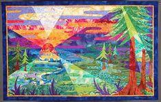 Humboldt Sunset from TM Quiltsspiralt.com