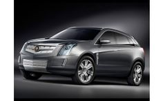 2008 cadillac provoq concept front and side tilt