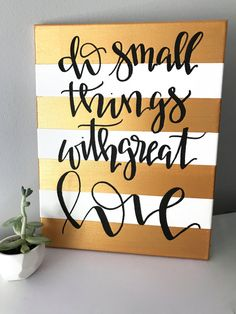 Do small things with great love Mother Teresa quote by ADEprints