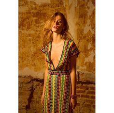 #MMissoni | #LaVanguardia, Spain | Dress | Spring 15