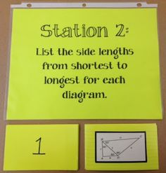 Middle School Math Rules! love using centers/stations