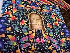Secret Garden Door, Garden Doors, Lost Ocean, Adult Coloring, Coloring Books, Johanna Basford Books, Color Inspiration, Instagram Posts, Collection