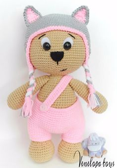 ◆❤ Welcome to Venelopa'TOYS Patterns Store ❤◆ ❥ This listing is for an amigurumi pattern, not the finished toy. ❥ Crochet pattern in pdf format, and emailed to you within 24 hours of your...