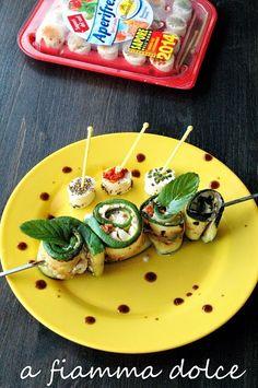 Camosciamo con gli #Spiedini vegetariani estivi con #Aperifresco #ricette #receipe #food#deliciousfood #camosciodoro#camosciare #piccolipiaceri Grazie a Yrma, A fiamma dolce!