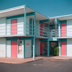 Travel Inn, 2013 from Nearly West Walker Pickering Interior Architecture, Interior Design, Retro Aesthetic, Looks Cool, Motel, Aesthetic Pictures, Minimalism, Exterior, Instagram
