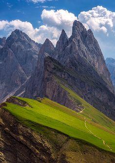 "coiour-my-world: "" Seceda,Südtirol ~ Alps, Italy ~ Manuel Widl """