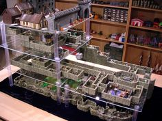 Our GM puts a lot into the game and does something like this, but this puts him to shame. I would show this set up to him, but he'd probably notice all the monsters and just throw them  into the next encounter.