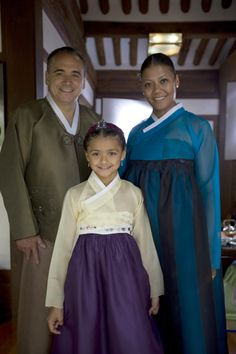 """Jean-Georges, Marja and Chloe  Vongerichten  Of the """"Foodie"""" show Kimchi Chronicles"""