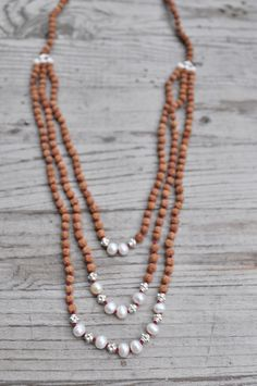 $530.00 http://shop.malacollective.com/collections/wedding-collection/products/intentional-love-mala Intentional Love Mala #malabeads #wedding #pearls #silver #necklace #bride #boho Start this new chapter in life looking absolutely radiant. Be conscious of your intentions as you begin this incredible journey with the one you love. Make your 'something new' the Intentional Love Necklace.