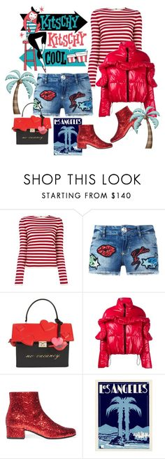 """""""California winter"""" by juliabachmann ❤ liked on Polyvore featuring Sonia Rykiel, Philipp Plein, Kate Spade, MSGM and Yves Saint Laurent"""