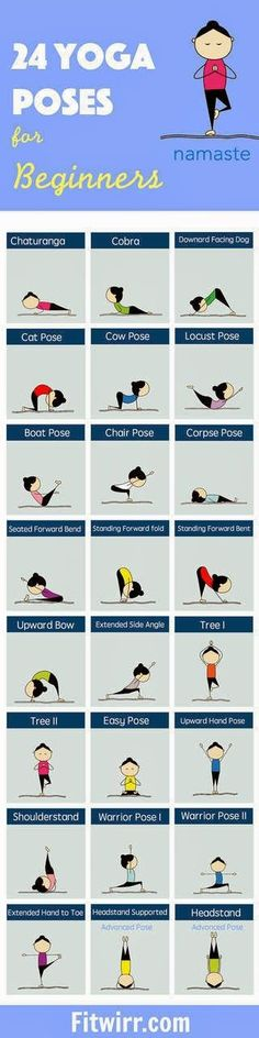 Best Fit Motivation: 24 Yoga Poses for Beginners thank u for reading , also dont forget and share my review about one of the best yoga product , yeah i'm sure . for more infos check this website ! : http://www.ndthepro.com/yoga.html