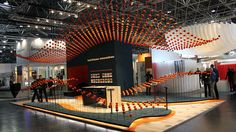 Kohlhaas messebau | Euroshop 2011 | #exhibition #messe #stand #stands #booth #event #exhibit #design #euroshop #2011 #euroshop2011 Shops, Opera House, Basketball Court, Booth, Building, Design, Tents, Buildings, Retail