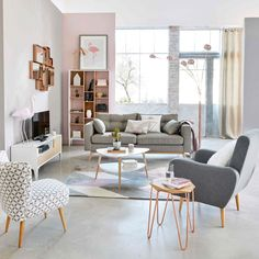 Scandinavian White Coffee Table | Maisons du Monde