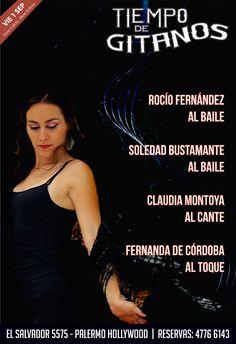 Arranca Septiembre y no podes faltar!!  Te esperamos este Viernes en Tiempo de Gitanos!!  Reservas al 4776 6143 Cena Show, Palermo Hollywood, Loneliness, Friday, Flamingo