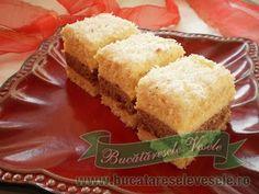 Prajitura Delicia - Bucataresele Vesele Romanian Desserts, Romanian Food, Romanian Recipes, Peppermint Cheesecake, Cheesecake Bites, Sweets Recipes, Cake Recipes, Cooking Recipes, Homemade Sweets