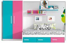 Decora la habitación de los peques de la casa con colores vivos y #muebles funcionales. Descubre todos los trucos en el #blog de #decoración ¡Entra ya!