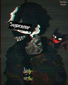 image by Joel. Discover all images by Joel. Find more awesome supreme images on PicsArt. Anime Demon Boy, Anime Devil, Dark Anime Guys, Cool Anime Guys, Awesome Anime, Anime Art Girl, Gothic Anime Girl, Anime Neko, Sad Anime
