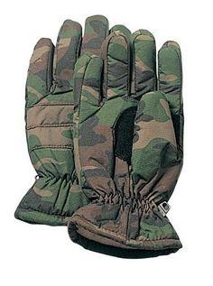 c639428b56d5e Insulated Hunting Glove Cold Weather Mitten - ACU, Wood Camo, Black -  S,M,L,XL