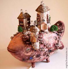 Светильник Чудо-Юдо-Рыба-Кит, $1073