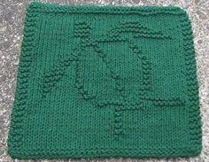 Honu (Sea Turtle) Dishcloth PDF Knitting Pattern