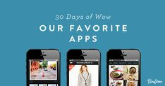 Our 30 Favorite Apps phone apps for productivity, health, shopping, and more