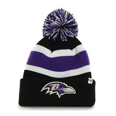 Baltimore Ravens New Era Classic Cover Cuffed Knit Hat - Purple ...