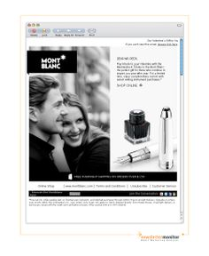Brand: Montblanc | Subject: Pay Tribute To Your Valentine
