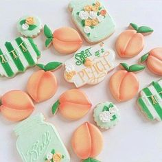 Sweet as a peach! Bee Sweet Confections Sweet as a peach! 1st Birthday Girls, First Birthday Parties, Birthday Party Themes, First Birthdays, Birthday Ideas, Girl Parties, Birthday Recipes, Themed Parties, Birthday Decorations