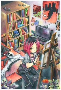Amazing Examples of Manga and Anime Artwork http://www.graphicmania.net/amazing-examples-of-manga-and-anime-artwork/