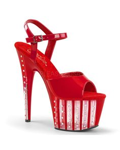 ff7baa3b6a61 Reach for the sky in the Pleaser Adore Ankle-Strap Sandal