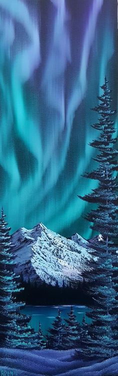 Stretching the lights oil 12x36 inch canvas http://ift.tt/2BVgUKQ