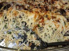 Zapiekanka makaronowa z boczkiem i pieczarkami - zdjęcie 3