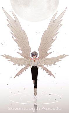 Neon Genesis Evangelion, Evangelion Tattoo, Evangelion Kaworu, Fantasy Character Design, Character Art, Character Inspiration, Cute Anime Couples, Anime Couples Manga, Anime Girls