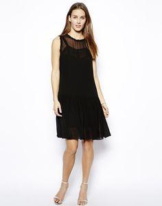Twenty8Twelve+Georgette+Drop+Waist+Sleeveless+Dress