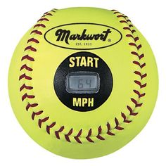 I NEED THIS!! YOU PITCH THE BALL AND IT TELLS YOU HOW FAST YOU THREW!! MIND=BLOWN