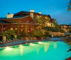 And when you go to La Jolla, you need to stay here:  The Lodge at Torrey Pines aka Heaven on Earth