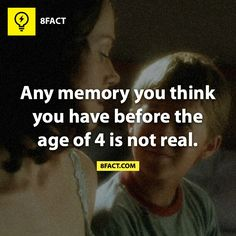 Deals with how before the age of four, we are still developing our temporal lobe, resulting in us not remembering anything before that age.