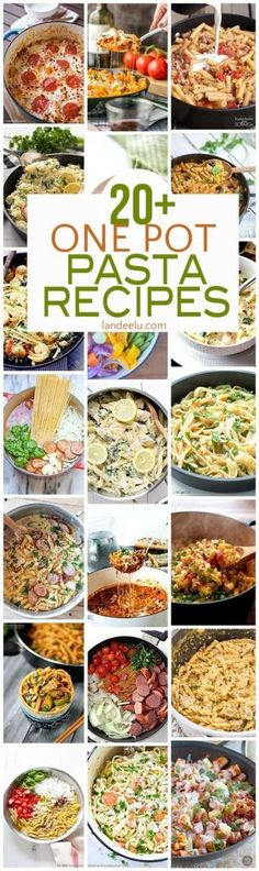 One Pot Pasta Recipes for Busy Families