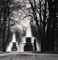 Michael Kenna, Roman Fountains, Peterhof, Russia. 2000
