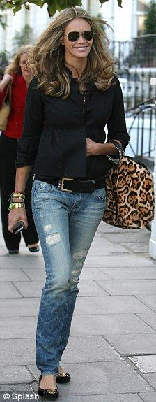 Elle MacPherson - Her flawless, classic style.