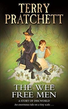 """: The Jim Henson Company Partners With Narrativia To Develop """"Wee Free Men"""" As Feature Film. Award winning screenwriter Rhianna Pratchett, daughter of Sir Terry Pratchett, will pen the adaptation Discworld Books, Discworld Characters, Books To Read, My Books, Terry Pratchett Discworld, Cool Books, English, First Novel, Free Reading"""