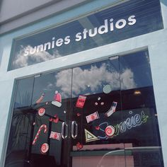 """getting ready for the season #sunniesHQ""   Sunnies Studios"
