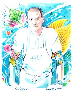 Chef Ryan Clift for Fricote magazine