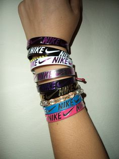 FREE SHIP nike icon snap bracelet by InSearchOf on Etsy, $4.50... I want these!!!