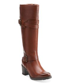 Look what I found on #zulily! Rust Fernwood Oasis Leather Riding Boot #zulilyfinds