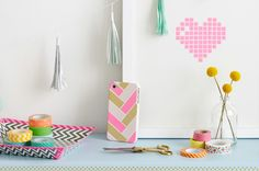 Washi tape! The endlessly editable, tantalizingly colorful way to decorate anything.