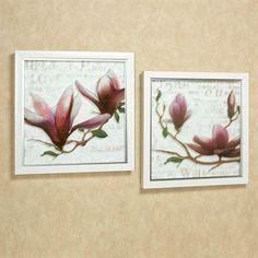 touch of class Jemmas Floral Framed Wall Art Set